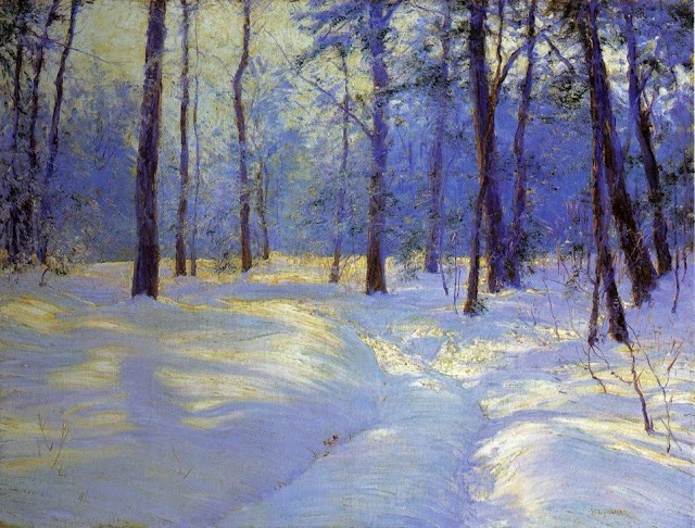 5b Walter Launt Palmer (American painter, 1854-1932) Winter's Glow